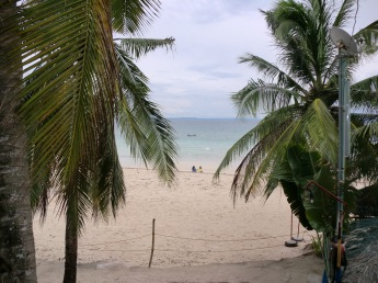 fine sand at the beach