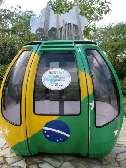 Brazil cable car