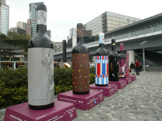 It was Hong Kong's Wine and Dine Month