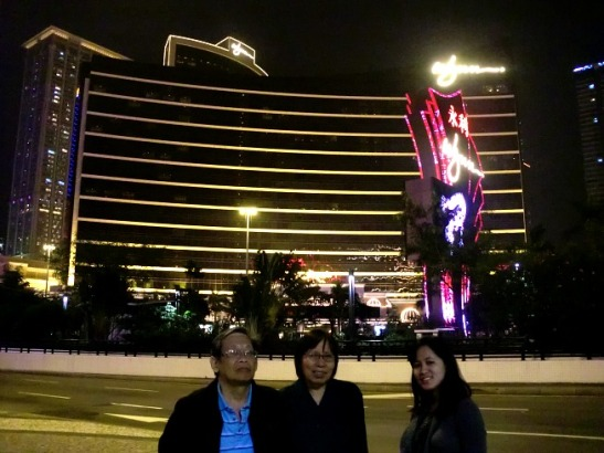 In front of Wynn this time around